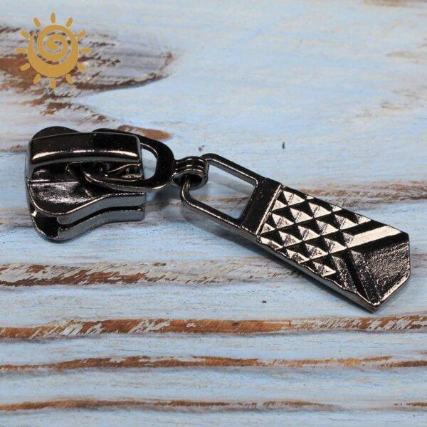 Бігунок для спіральної блискавки тип 8 нікель, арт.7 1