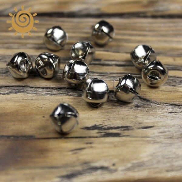 Декоративний елемент дзвіночок, колір срібний 1