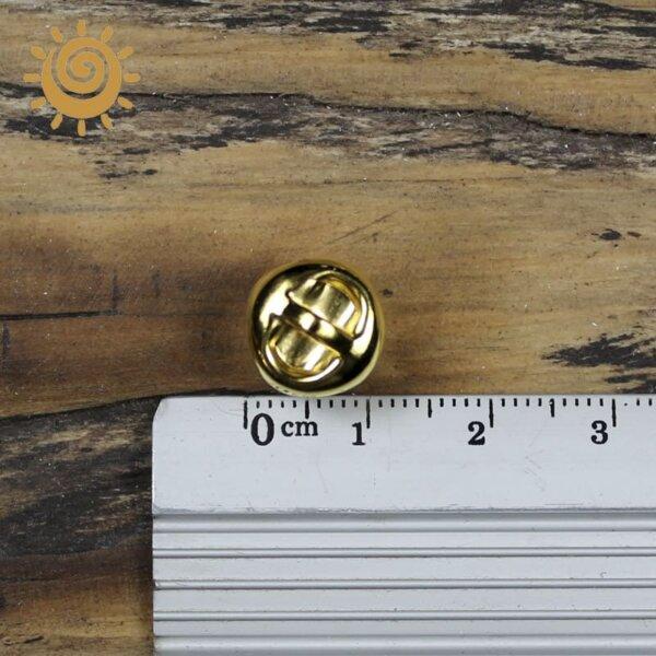 Декоративний елемент дзвіночок, колір золотий 1