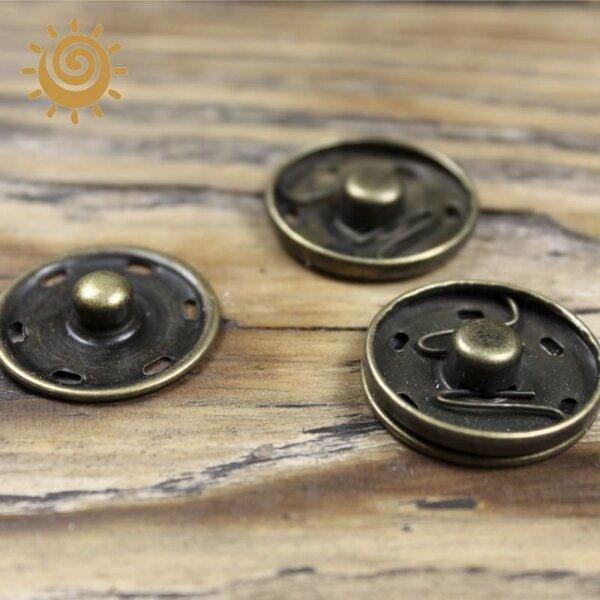 Кнопка пришивна металева