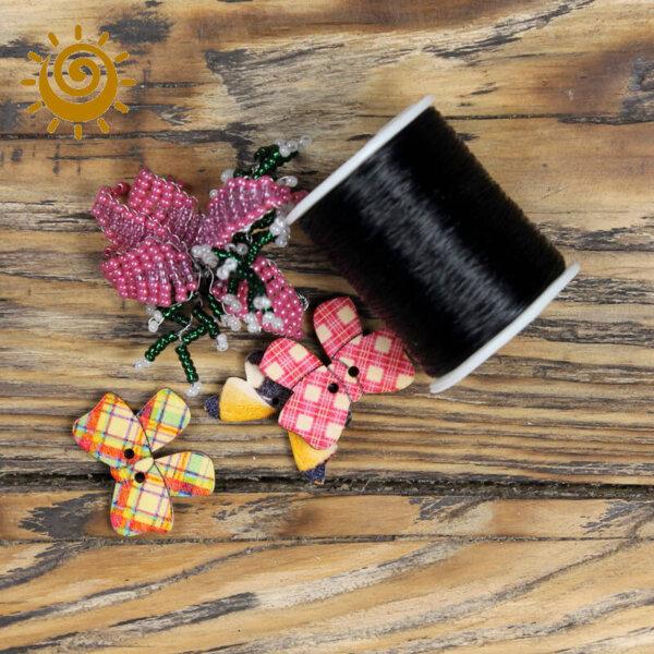 Жилка на котушці, колір чорний 1 leska chorna