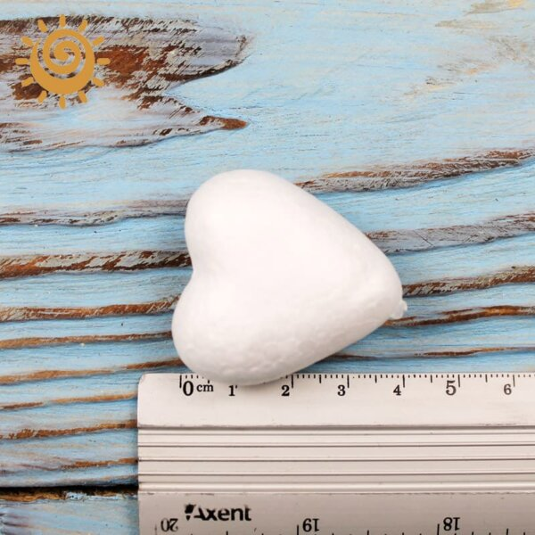 Виріб з пінопласту Серце, 40 мм 1