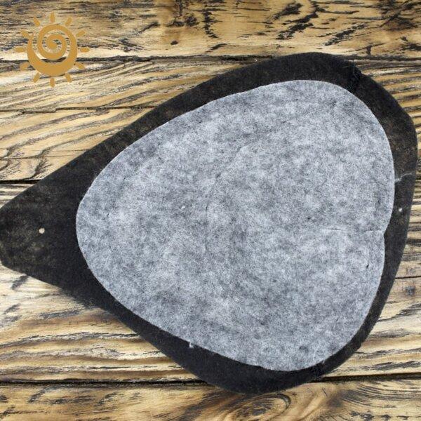 Плечові накладки професійні, колір чорний 1