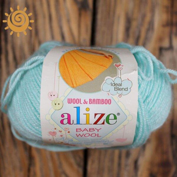 Alize Baby wool 19 водяна зелень 1