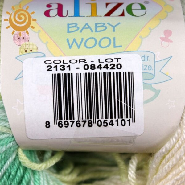Alize Baby wool batik 2131 1
