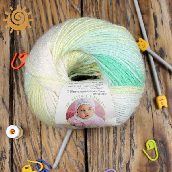 Alize Baby wool batik 3569 3