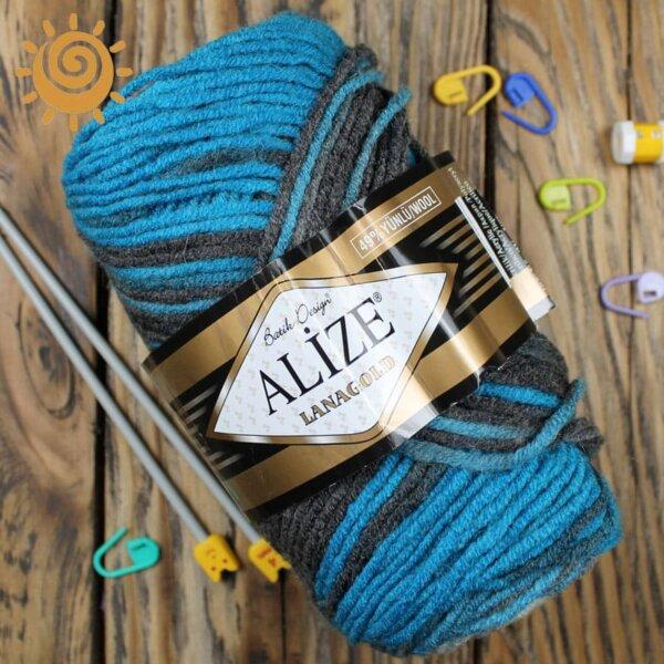 Alize Lanagold batik 4467 4