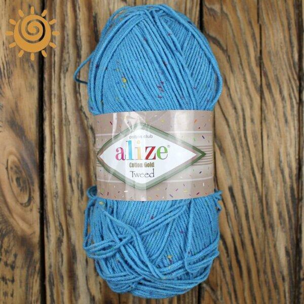 Alize Cotton Tweed 245 блакитний 1